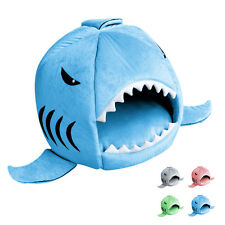2016 Lovely Shark Mouth Pet Dog Cat House Removable & Washable Dog Bed Kennel