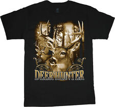 big and tall t-shirt deer hunter hunting decal tee shirt tall shirts for men