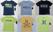 Hurley Boys Various T-Shirts Sizes 4, 5, 6 and 7 NWT