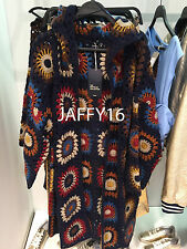 ZARA LIMITED EDITION CROCHET COAT WITH HOOD Size: S,M  REF. 9598/101