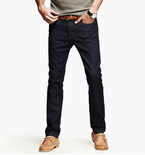 Mens Jeans Cowboy Pencil Jeans Little Stretch Pants Trousers Denim 29~36 KK-2338
