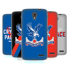 OFFICIAL CRYSTAL PALACE FC THE EAGLES SOFT GEL CASE FOR ALCATEL PHONES