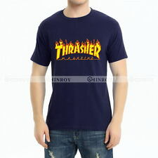 Flame T-shirt Fashion Mens Womens Short Sleeve Round Neck Pullover Hoodie