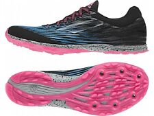 ADIDAS XCS 5 W Sprint Track Running Spikes Shoes M18862 Womens Size 7 Black Pink