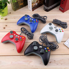 USB Wired Joypad Gamepad Controller For Microsoft Xbox & Slim 360 Windows 7 MR