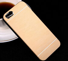 Luxury Electroplating Brush Hard Plastic Back Case Cover for iPhone & Samsung