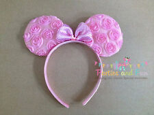 Minnie Mouse Ears Pink Bow, Minnie Mouse Headband, Disney Vacation