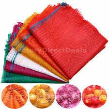 500 x Net Woven Sacks Logs Kindling Wood Log Vegetables Mesh Bags 64x40 cm 15 kg
