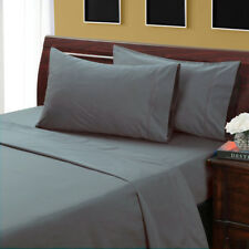 PARROT GREEN SOLID BED SHEET SET 800 TC 100% EGYPTIAN COTTON SELECT YOUR SIZE