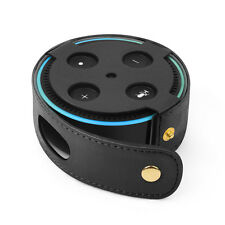 Protective Case for Amazon Echo Dot 2nd Gen PU Leather Cover Sleeve Skin