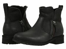 Women's Shoes UGG Lavelle Casual Leather Ankle Boots 1013366 Black *New*