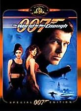The World Is Not Enough James Bond 007 DVD Pierce Brosnan Sophie Marceau