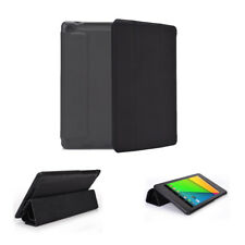 Slim PU Leather Folio Case for 2012 Asus Google Nexus 7 Tablet (2nd Gen)