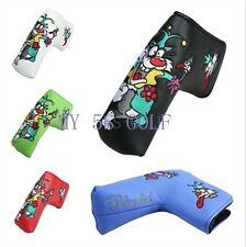 Free Shipping Golf Headcover Blade Golf Putter Head cover 5 Colors Available