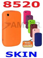 AMZER Silicone Skin Case Cover + extra Case / Screen Guard Blackberry Curve 8520