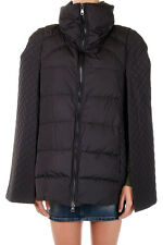 PIERRE BALMAIN Woman Black Padded Cape New with Tags and Original