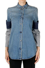 MARTIN MARGIELA MM6 Woman Denim Shirt Made in Italy New with Tags and Original
