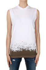 DSQUARED2 Dsquared² Women ICON Sleeveless Printing T-shirt Cotton Made in Italy