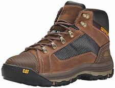 Caterpillar CONVEX MID ST P90523 Mens STEEL TOE WIDE WIDTH Dark Beige Work Boots