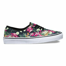 VANS AUTHENTIC LIME IN THE COCONUT BLACK MENS CASUAL SKATEBOARD SHOE CLEARANCE