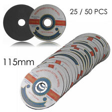 "10~50 PCS 115mm/4.5"" Metal Reinforced Cutting Wheel Disc Stainless Steel Grinder"