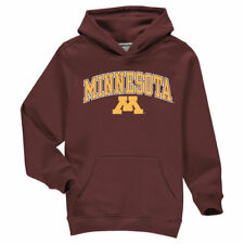 Fanatics Branded Minnesota Golden Gophers Youth Maroon Campus Pullover Hoodie