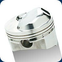 231510 SRP Pistons High Compression Dome 555 BB Chevy 4.560 Bore 12.8:1 Comp