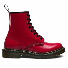 Dr.Martens 1460 Patent 8 Eyelet Red Womens Boots