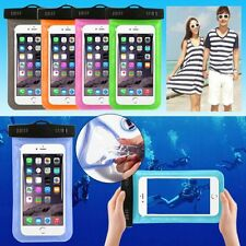 Case Cell Phone Pouch Bag Underwater Dry Waterproof Touchscreen for iPhone