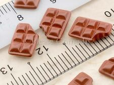 Mini Kawaii Flatback Chocolate Resin Cabochon Decoden Charm