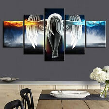 2 Sizes Abstract Angel Wings Home Wall Decoration Landscape Oil Canvas Paintings
