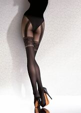 FIORE TEMIDA PATTERNED MICROFIBRE TIGHTS 40 DEN G5724