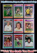 ☆ Topps 1976 Football Blue/Grey Cards 271 to 330 (VG) *Please Select Cards*