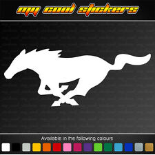 Ford Mustang Horse Vinyl Sticker Decal for 4x4,car,ute,window pony