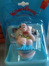 Wallace and Gromit Soap Dish & Bath plug / Brand New Highly Collectible Free P&P