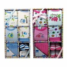 7 PCS BABY GIFT SET FOR BOYS OR GIRLS 0/6 MONTHS