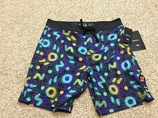 NEW NWT mens RVCA ANP DMOTE trunk boardshorts board shorts 33 MC106DMO