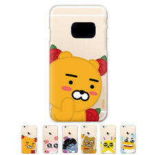 S2B Kakao Friends Flower Jelly Protect Bumper Cover Case For Samsung Galaxy S7