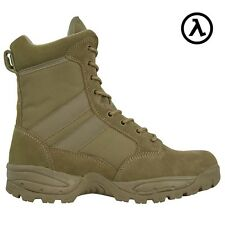 MAELSTROM TAC FORCE 8'' COYOTE BROWN TACTICAL BOOTS T5183 * ALL SIZES - SALE