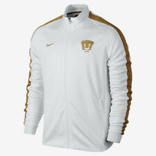 NIKE PUMAS UNAM AUTHENTIC N98 TRACK JACKET White/Gold.