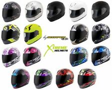 Scorpion EXO-R410 Full Face Street Helmet DOT/SNELL Certified XS-3XL