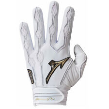 Mizuno Pro Batting Gloves(White)- Adult