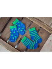 Blade and Rose Green and Blue Socks (2 Pairs)  Various Sizes - BNWT