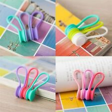 Magnetic Earphone Cable Organizer Earphone Headphone Headset Cable Winder MP