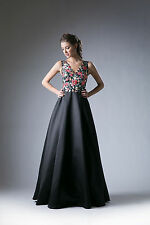 TheDressOutlet Prom Long Dresses Floral Plus Size Formal Evening Party Gown