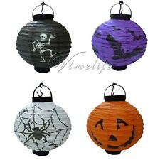 Festival Party Halloween paper lantern Props Outdoor Lamp Light 4 Styles Decor