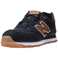 New Balance Ml574txa Mens Trainers Black Brown New Shoes