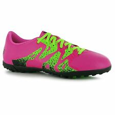 Adidas X 15.4 Astro Turf Football Trainers Mens Shock Pink Soccer Shoes