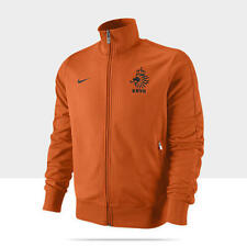 NIKE NETHERLANDS AUTHENTIC N98 TRACK JACKET Orange/Black.