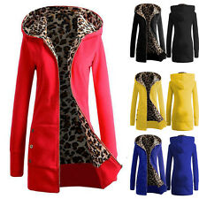 Winter Warm Womens Thicken Coat Hooded Parka Ladies Long Jacket Overcoat Outwear